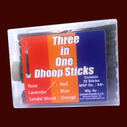 3 in 1 Dhoop Sticks