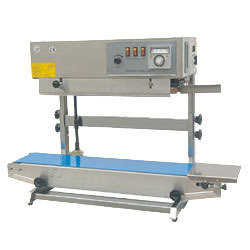 Continuous Band Sealing Machine For Pouches