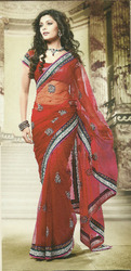 Embroidered Bridal Sarees