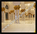 inlay column abu dhabi grand mosque project