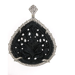 Diamond Carving Pendants
