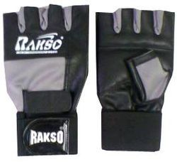 Gym Gloves Double Wrap