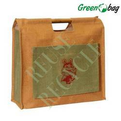 Wood Handle Tote Bags