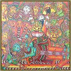 Indian culture hisotry indian culture paintings for Define mural painting