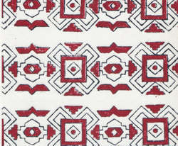 Abstract Design Block Printed Handmade Papers