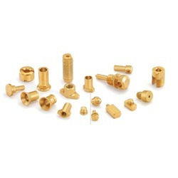 Brass Knurled Anchor
