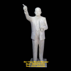 Dr. B.R Ambedkar White Statue