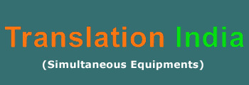 Translation India - Simultaneous Equipments