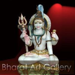 God Shiva Statue of Marble