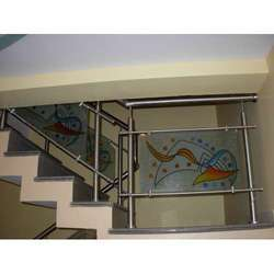 Metal Stair Rails