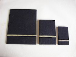 Jute Fabric Covered Notepads