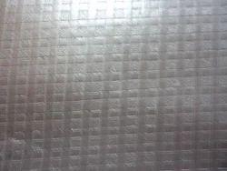 Split Metallic Square Print