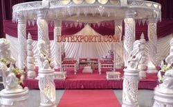 New Style Wedding Six Pillars Mandap