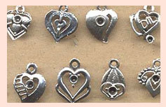 Heart Shaped Charms