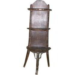 Cart Old Style Bookcase with Iron Work