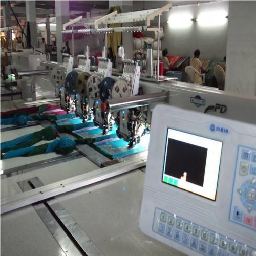 Embroidery Machines - Flat Multi Head Embroidery Machine Manufacturer From Surat