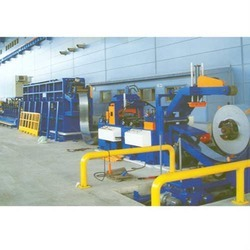 Strip Entry Line For Tube Mills