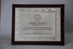 Foil Plaques (trophy)