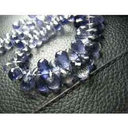 Sapphire Faceted Teardrops