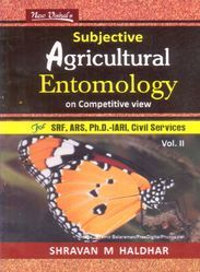 Subjective Agricultural Entomology On Competitive View