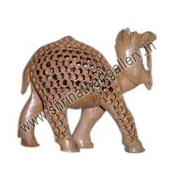 Indian Wooden Jaali Camel