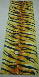 Scarf With Leopard Digital Print