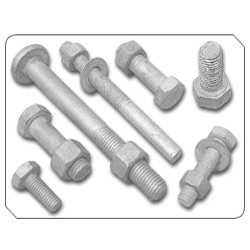 Hot Dip Galvanised Bolts, Step Bolt