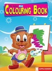My Junior Coloring  Blue Books