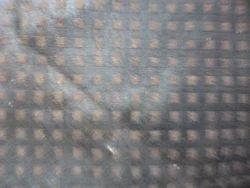 Split Square Print Brown