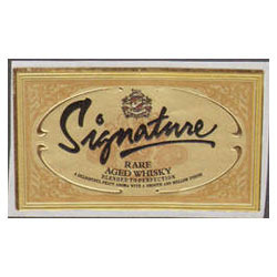 Labels of Signature