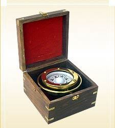Ship Boxed Compass