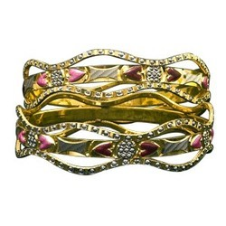 Stylish Gold Bangles