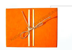 Folding Note Book Tied With Jute Rafia