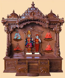 Wooden Home Temple Design Carved Wooden Temple View Specifications ...