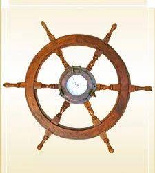 Wheel Porthole Clock