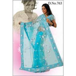Beaded Party Wear Sarees