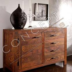 Sheesham Wood Door Sideboard