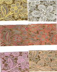 Two Tone Metallic Embossed Handmade Paper