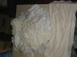 White A Cotton Waste