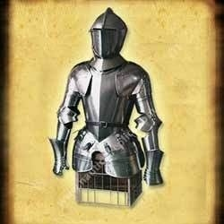 Medieval European Half Suit Of Armour