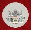 Marble Taj Mahal Decorative Plate