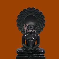 Marble Digamber Jain Parshwanath Statue
