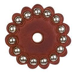 Leather Rosettes