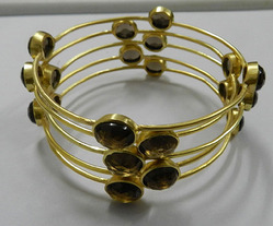 Smoky Quartz Bangle