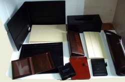 Leather Hotel Items