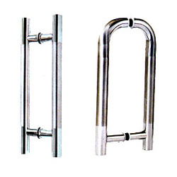 Steel Glass Door Handles