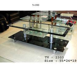 Classic Glass Tv Unit
