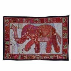 Indian Elephants Wall Hanging Tapestry