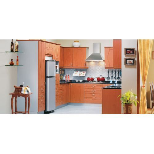 Modular Kitchen Magnon India: Wooden-U Shape Big Kitchen Manufacturer From Aligarh