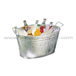 Galvanized Iron Ice Bucket
